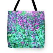 Lavender Color Flowers Tote Bag