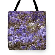 Lavender-colored Tree Blossoms Tote Bag