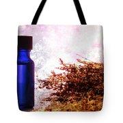 Lavender Essential Oil Bottle Tote Bag