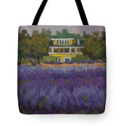 Lavender Farm On Vashon Island Tote Bag