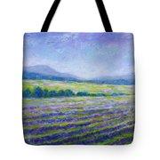 Lavender Field In Provence Tote Bag