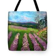 Lavender Fields Tote Bag