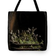 Lavender Fire Tote Bag by Anne Gilbert