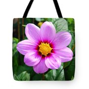 Lavender Flower Tote Bag