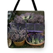 Lavender Harvest Tote Bag