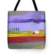 Lavender Hills Tote Bag