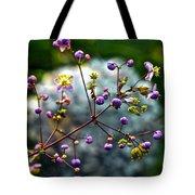 Lavender Mist Explosion Tote Bag