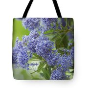 Lavender Pompoms Tote Bag