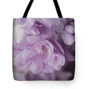 Lavender Purple Roses Rhapsody Tote Bag