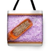 Lavender Seeds And Bath Salts Tote Bag