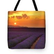 Lavender Sunset Tote Bag