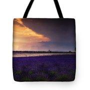 Lavender Thunderstorm Tote Bag