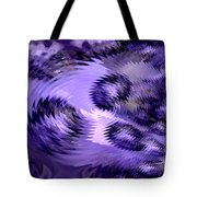 Lavender Water Abstract Tote Bag