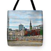 Law Courts Newcastle Upon Tyne Tote Bag