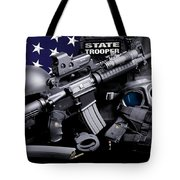 Law Enforcement Tactical Trooper Tote Bag by Gary Yost