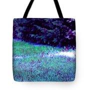 Lawn Blue Tote Bag