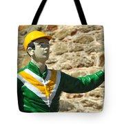 Lawn Jockey Tote Bag