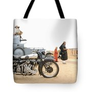 Lawrence Of Arabia Display At The Goodwood Revival Meeting Tote Bag