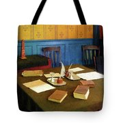 Lawyer - 19th Century Lawyer's Office Tote Bag