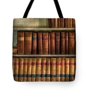 Lawyer - Books - Law Books  Tote Bag