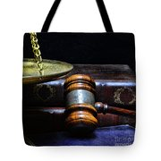 Lawyer - Books Of Justice Tote Bag