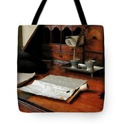 Lawyer - Quill Papers And Pipe Tote Bag