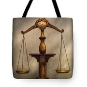 Lawyer - Scale - Fair And Just Tote Bag