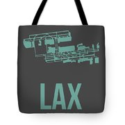 Lax Airport Poster 2 Tote Bag by Naxart Studio