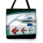 Lax Exit Arrows Tote Bag