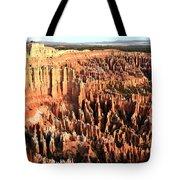 Layered Hoodoos At Bryce Canyon National Park Tote Bag
