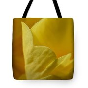 Layered In Yellow Tote Bag