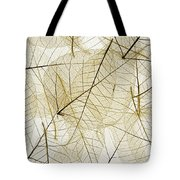 Layered Leaves Tote Bag