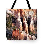 Layers Of Hoodoos And Bluffs Tote Bag