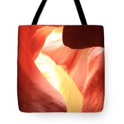 Layers Of Light And Sandstone Tote Bag