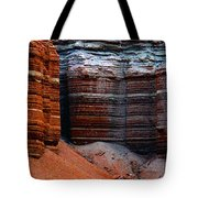 Layers Of Time Tote Bag