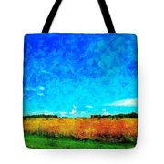 Lazy Clouds In The Summer Sun Tote Bag