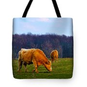 Lazy Meadow Tote Bag