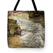 Lazy Mountain Stream Tote Bag