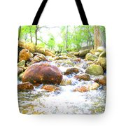 Lazy Rapids Open Tote Bag