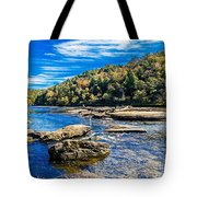 Lazy River Afternoon Tote Bag