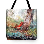 Lazy Summer's Day By Jan Matson Tote Bag