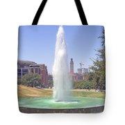 L B J Library Fountain Tote Bag