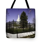 Lds Idaho Falls Temple Tote Bag