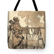 Le Bleuet. Symbol Of Memory And Solidarity In France, For Veterans And Victims Of The First World Tote Bag