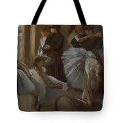 Le Foyer De L'opera Tote Bag by Edgar Degas