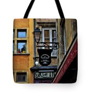 Le Gourmand Saint Jean-lyon France Tote Bag