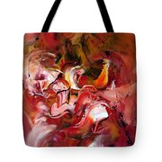 Le Jardin Extraordinaire Tote Bag by Isabelle Vobmann