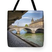 Le Pont Napoleon Paris Tote Bag