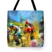 Le Tour De France 01 Tote Bag