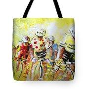 Le Tour De France 07 Acrylics Tote Bag